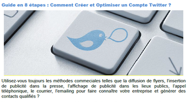 prospection sur twitter